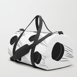Ice Hockey Puck Duffle Bag