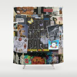 The Band Of Bet-a Shower Curtain