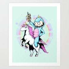 LVB Majestic Steed Art Print
