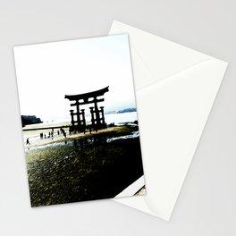 The Gate of Miyajima Stationery Cards