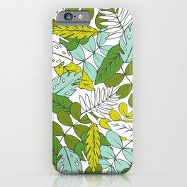 Modern Tropics iPhone Case