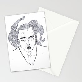 dream male Stationery Cards
