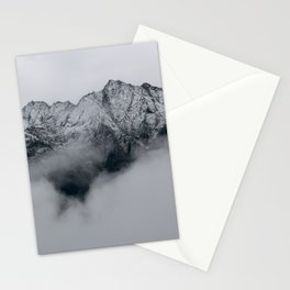 Cloudy Mountains Stationery Cards