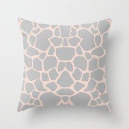 Giraffe Animal Print Throw Pillow