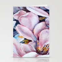 magnolia Stationery Cards featuring magnolia by Eva Lesko