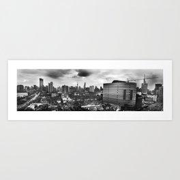 Growing City Art Print