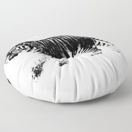 Tiger Prowl Floor Pillow