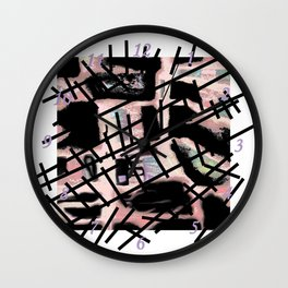 Black Railways Wall Clock