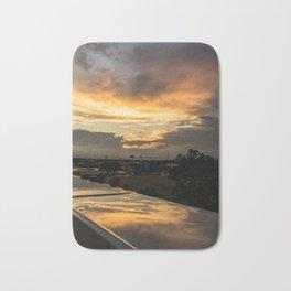 Reflective Sunset pt.2 Bath Mat