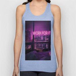 Neon Light Inspiration Unisex Tank Top
