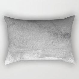 The Shore (Black and White) Rectangular Pillow
