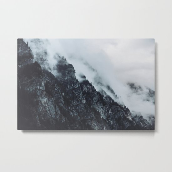 FOG ROLLS IN Metal Print