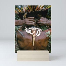 Papua New Guinea Sing Sing Mini Art Print