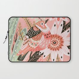 Little Pink Bird Laptop Sleeve