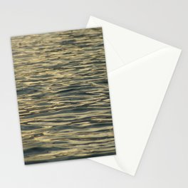Sunset on the water Stationery Cards