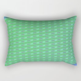 Folded pattern Rectangular Pillow