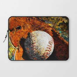 Baseball art print work 10 Laptop Sleeve