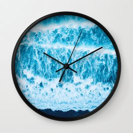 Ocean amour Wall Clock