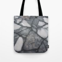 stockholm Tote Bags featuring Stockholm  by Emily Deering