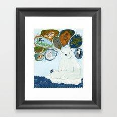 Spokesbear.  Framed Art Print