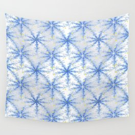 Snow Flakes Design Wall Tapestry