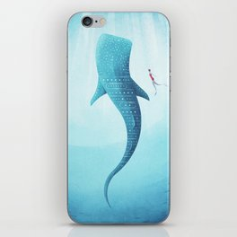 The Whale Shark iPhone Skin
