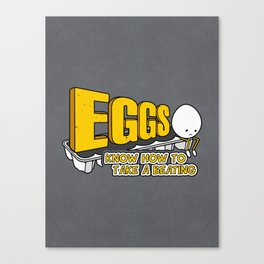 Eggs! Canvas Print