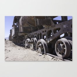 Salt Station Canvas Print