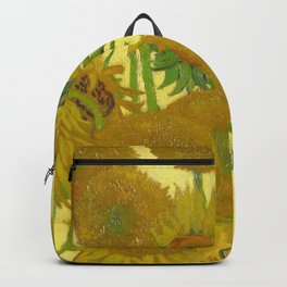 "Vincent van Gogh ""Vase with Fourteen Sunflowers"" Backpack"