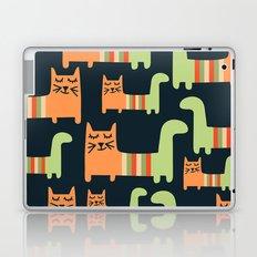 Cats Cute Love Pattern Laptop & iPad Skin