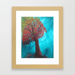 First Winter Wind Framed Art Print