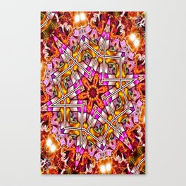 Star Of The Free Canvas Print