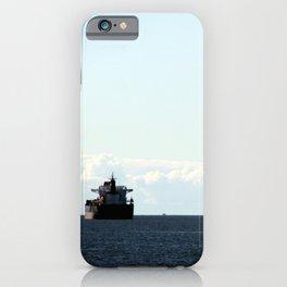 leaving port iPhone Case