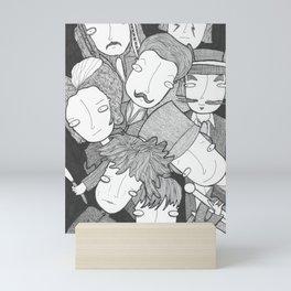 Johnny, Johnny, Johnny Mini Art Print