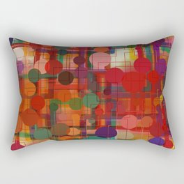 Festival of Lights Connect the Dots Abstract Rectangular Pillow