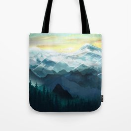 Mountain Range Tote Bag