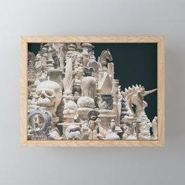 Tower of the Unusual Framed Mini Art Print