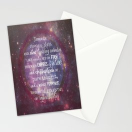 Dr Who Quotes Stationery Cards