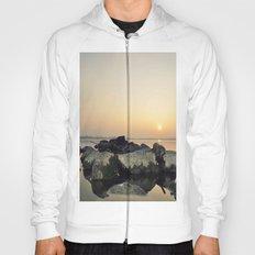 sea stones sunset ### Hoody