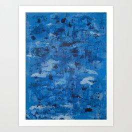 Revolution Blues Art Print