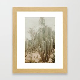 Fade Desert Framed Art Print