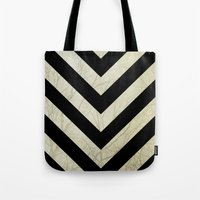 decal Tote Bags featuring Bold by Charlene McCoy