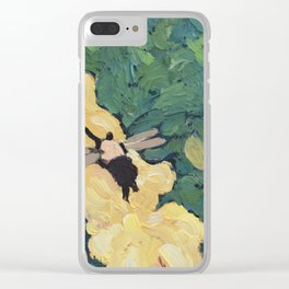 Buzzy Clear iPhone Case