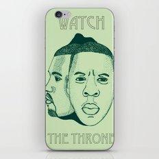 Watch The Throne II iPhone & iPod Skin