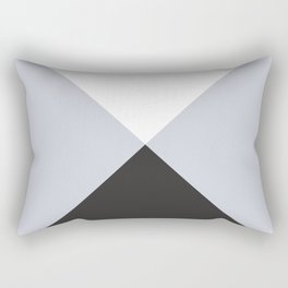 Minimal X Frost Rectangular Pillow