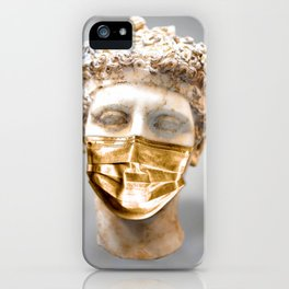 Mask of Gold Sculpture iPhone Case