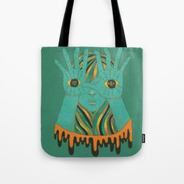eyes of gypsy  Tote Bag