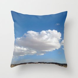 cloud photography Throw Pillow
