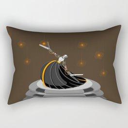 Robot Dancer Rectangular Pillow