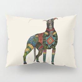 greyhound ivory Pillow Sham